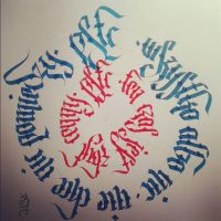 Calligraphy by KRISPSTC