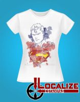 Superman Girl White Lock copy by Elionazio