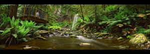 Hopetoun Stream by CainPascoe
