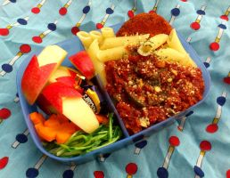 pasta bento by plainordinary1