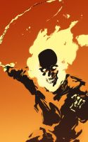 ghost rider by oldpantymachine