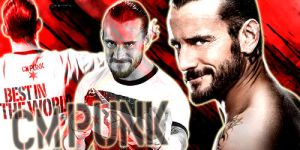 CM Punk Sign. by hombrear