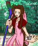 Melek's Aerith Coloured by IAmArkain