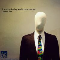 Wacky Tie Day Slender Man by TheNimbus
