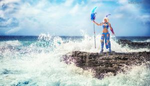 Armored Atlantis Kida by MartinWongArts