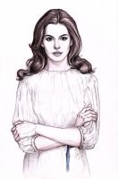Anne Hathaway by DafnaWinchester