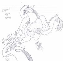 D+S: Little Chaos silverwing by Garfield141992