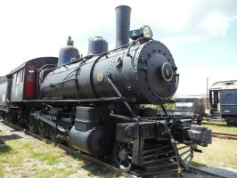 Norfolk and Western 2-8-0 No. 6 by rlkitterman