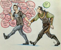 Frostiron: You walk I talk by polarbearsincapes
