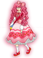 Strawberry scented hair - Re-done! by Emy-ai