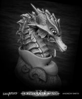 Seahorse Sculpt by Art-by-Smitty
