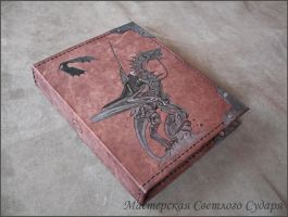 Leather notebook Nazgul by Svetliy-Sudar