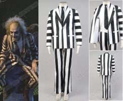 Fancy Suit costume for Beetlejuice Cosplay by Harryhf