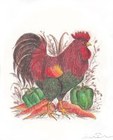 Rooster by Impsgramma