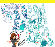 Livestream Requests 2-3 by tabby-like-a-cat