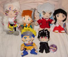 My Ufo Plushie Collection by kikyo4ever