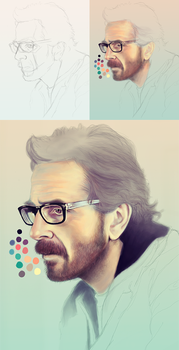 Marc Maron WIP by bwenner