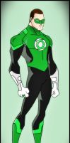 Green Lantern - Hal Jordan by DraganD