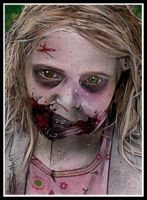 Walking Dead Little Girl by RandySiplon