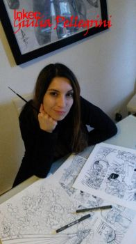 Inker  with her works by GiuliaPellegrini