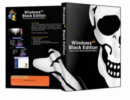 Windows XP Black Edition by squire23