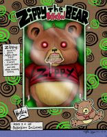 Zippy the possessed bear by LabrenzInk