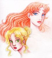 The Princess and the Goddess by queenbean3