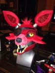 FNAF Foxy Mask by lonly-chibi-dragon