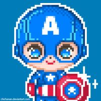 Captain America by Chichanan