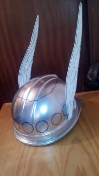 Cosplay Prop - Winged helmet (Asterix the Gaul) by MegaTuga