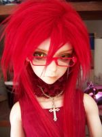 Grell doll cosplay 2 by Puffheadz
