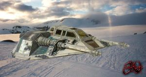 Snowspeeder T-47 on Hoth by jvcustoms