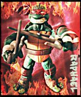 TMNT:: Fire and Raph by Culinary-Alchemist