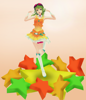 [MMD] Gumi Figure Pose - DL by Snorlaxin