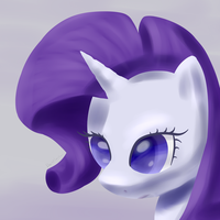 Rarity Paint New Style! by DarkFlame75