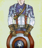 Captain Rogers by AnnaNM