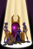 Blackfire's Throne by Glee-chan