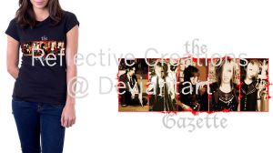 The Gazette T-shirt by ReflectiveCreations