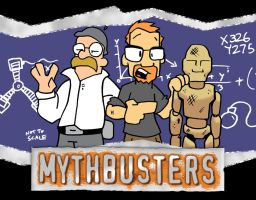 Mythbusters Fan Art by waffledawg