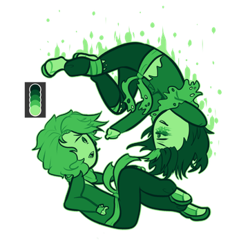 Morro and Lloyd [Pallete challenge] by x3thanXx