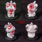 Zombie Shih Tzu Ooak dog by Undead-Art