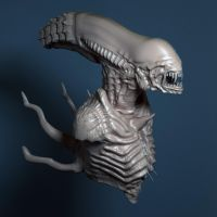 Alien Vray Test 3 by Thyke