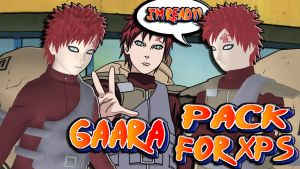 Naruto UNS3 - Gaara Pack FOR XPS by MVegeta
