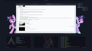 Twily Linux Desktop by dwv91