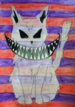 Cheshire Ghost Cat by BengalTiger4