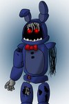 Withered Bonnie by PantherDonnie01