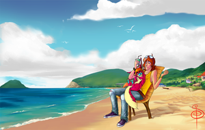 Sunny Afternoon by Drasisicgon