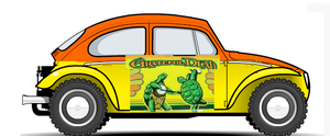 grateful dead baja bug by kingemster