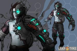 The UberStrike Art Workshop (Cyber robot Zombie) by SVK-Connecting-SVK