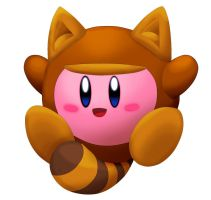 Tanooki Kirby 3D Attempt by riodile